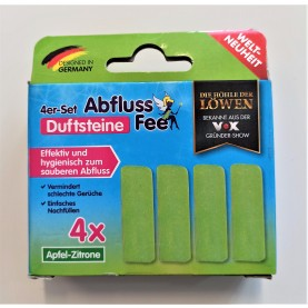 4er-Set Abfluss-Fee Duftstein