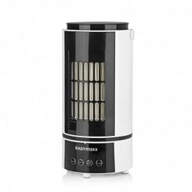 EASYmaxx Klimagerät Klimaanlage Kühlen & Heizen - 4 Geschwindigkeitsstufen - schwarz Klima + Heizung