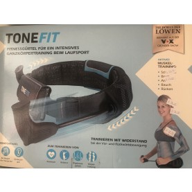 Tonefit Sportgürtel Fitnessgürtel Gürtel Fitnessgürtel