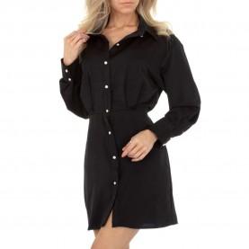 Damen Blusenkleid von SHK Paris Gr. M/38 - black