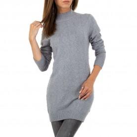 Damen Pullover von Glo Story Gr. S/M - grey