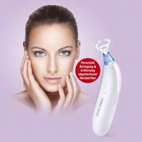 Vitalmaxx Porenreiniger Poren Reiniger Sauger elektrisch Mitesser Entferner Haut Mikrodermabrasion